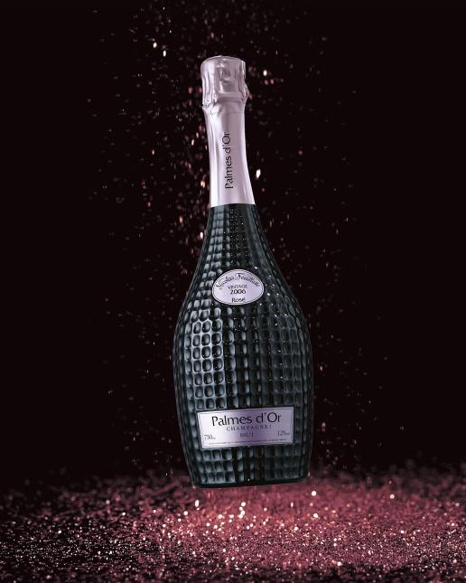 Palmes d'Or 2006 Rosé - un écrin précieux pour une cuvée d'exception