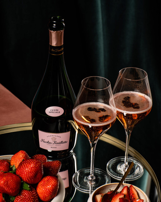 Nicolas Feuillatte Cuvée Spéciale Rosé - Fraises
